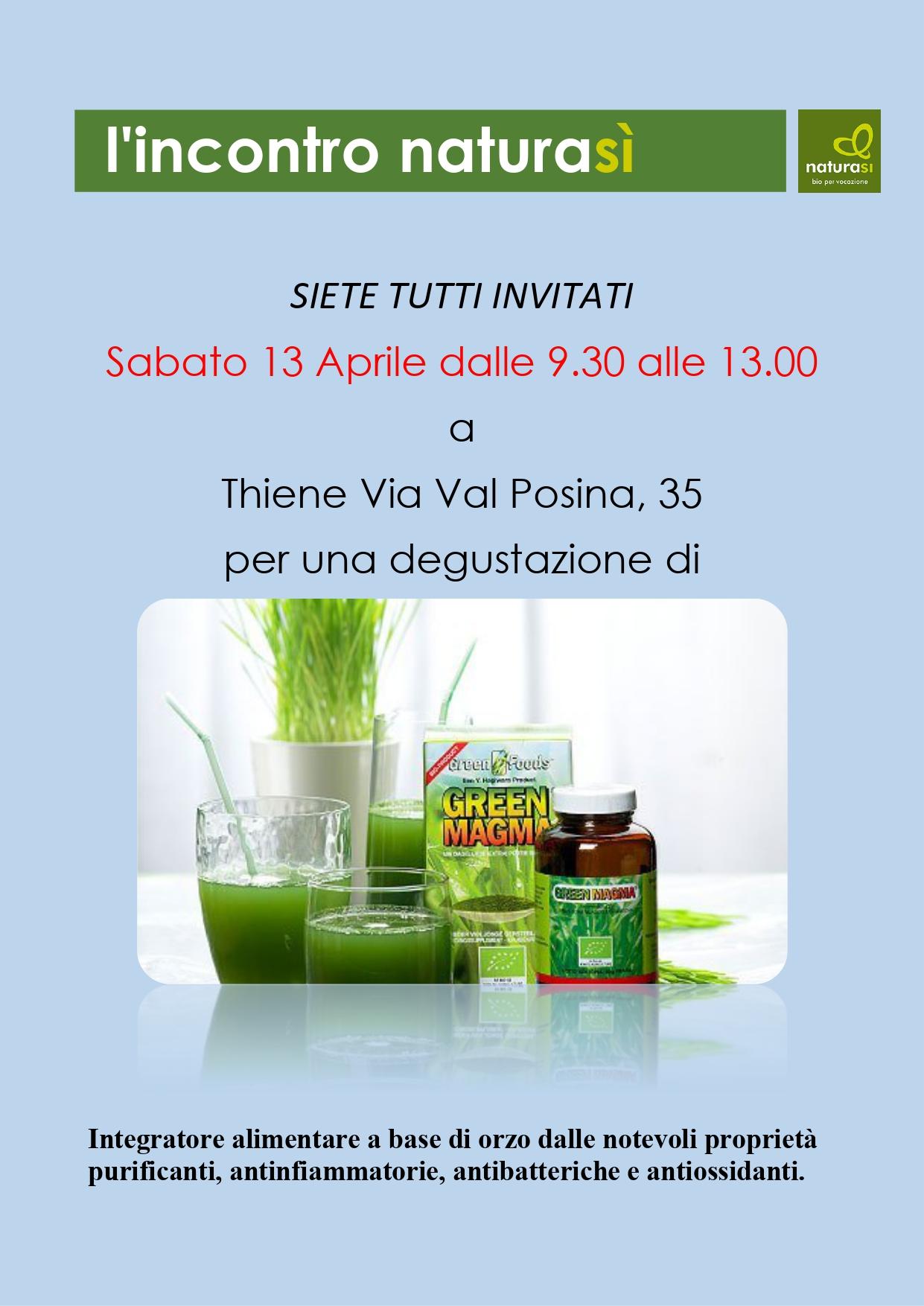 Presentazione Green Magma: 10% di sconto su tutti i prodotti Royal Green