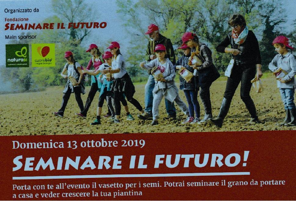 Seminare il futuro, 2019
