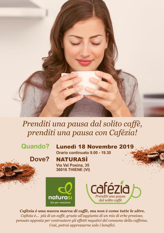 Prenditi un pausa dal solito caffè… con Cafézia