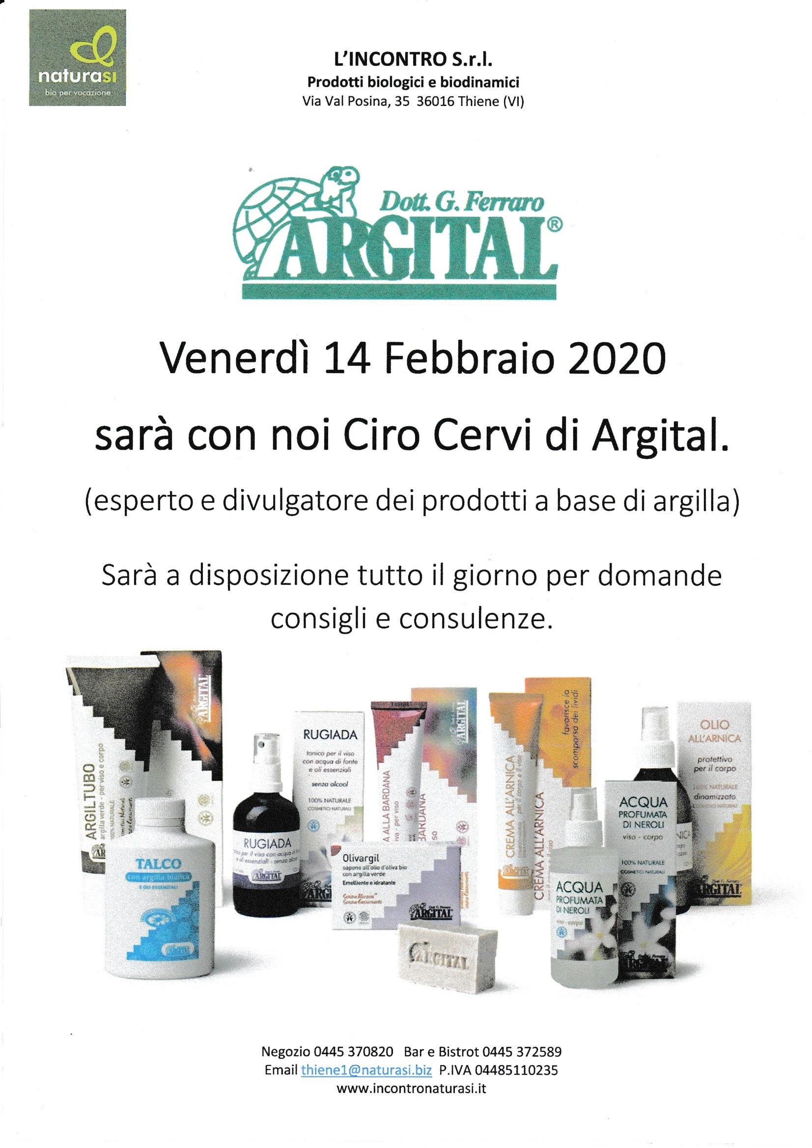 Giornata Argital… con Ciro Cervi