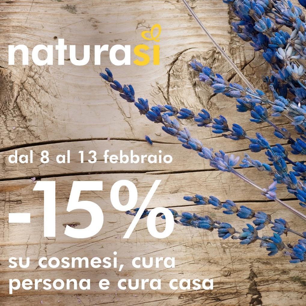 -15% su cosmesi, cura persona e cura casa