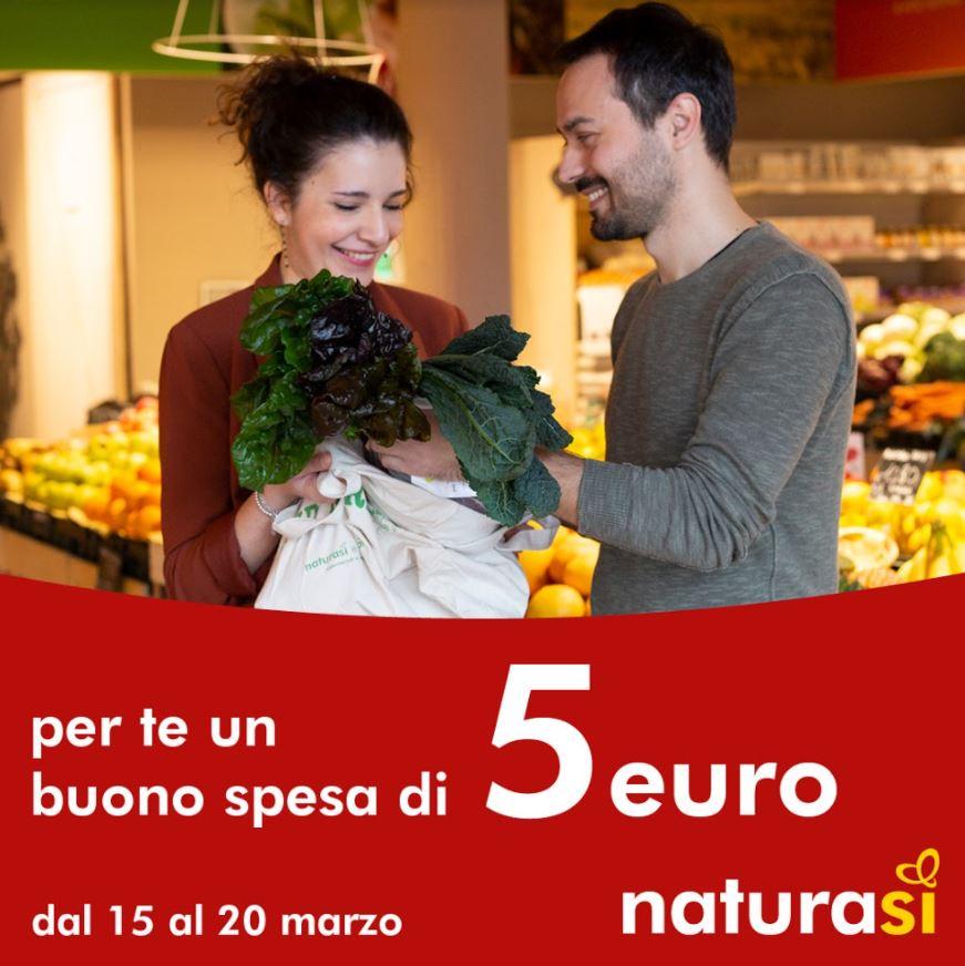 Buono Spesa di 5 Euro fino al 20 marzo
